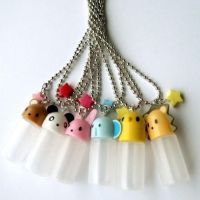 Animal Capsule Necklaces by AsianBunni