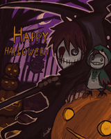 Happy Halloween!! by tunaniverse