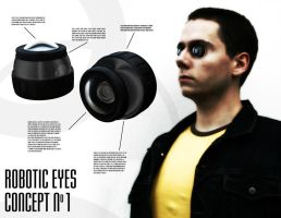 Robotic Eyes Concept No 1 by chickow