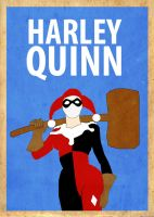 Harley Quinn Poster by Procastinating