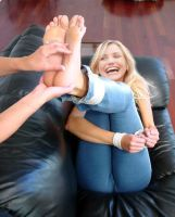 Cameron Diaz Tickled Fake by MikeTickler