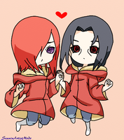 Itachi and Nagato Edo Tensei Chibi by SenninArtistModo