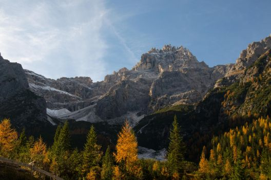 Stock 179 Moutainscape In Autumn by Einheit00