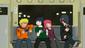 On The Way Home ~ Naruto Shippuden by TheMuseumOfJeanette