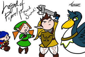 Legend of Pipit: Pipward Sword! by InvaderSonicMx