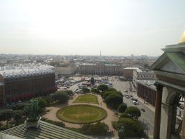 Above Saint Isaac's Square by Party9999999