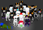 one year of homestuck by lal0nde