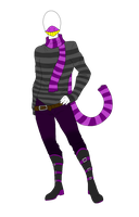 Outfit Adopt - Modern Cheshire Cat - SOLD by ShadowInkAdopts