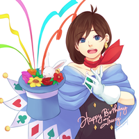 Trucy for Trucy by maesketch