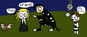It KNOW'S, Lenore... by Zincwolf