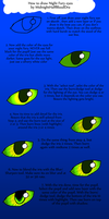 How To draw Night Fury eyes by PandaFilms