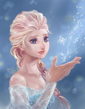 Frozen - Elsa by Namiz