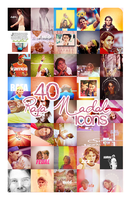 40 Rafa Nadal icons by ChantiiGG