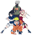 Old Team 7 by PatiChan14