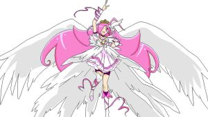 Smile Precure OC Cure Delight Movie Princess Form by princess-peach1