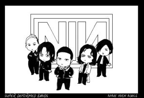 SD Bands: Nine Inch Nails by Nachan