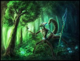 Insect Scout by OrmIrian