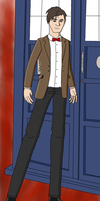 Gift: The Eleventh Doctor by MegaArtist923