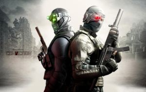 Splinter Cell Conviction Wp by igotgame1075