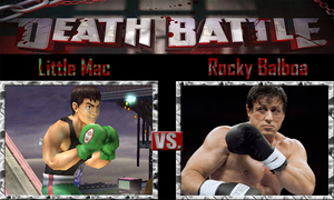 Little Mac vs Rocky Balboa by SonicPal