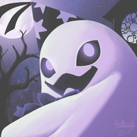Color Palette Challenge #2- Duplighost by hollarity