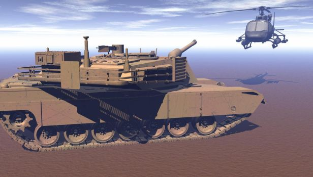 Tank And Z11 Bryce by revenger681