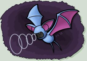 Zubat Used Supersonic! by TheSerotonin