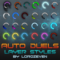 Auto Duels Layer Styles For 900 R$ by LordZeven
