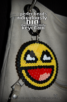 Awesome Smily Keychain by angelicetherreality