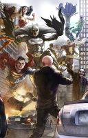 DC Heroes Villains VER 2 by benttibisson