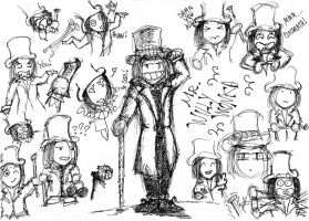 Willy Wonka's Expressions by TheInnominated
