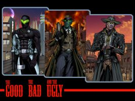 the good the bad and the ugly by spidey0318