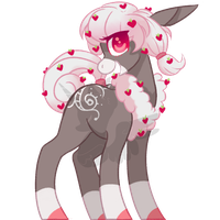 Female Berry Pony - Heartberry Frost [Closed] by nyfian