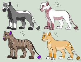 Lioness Point Adopts -CLOSED- by PoodleFradoodle