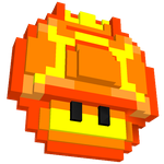Reino do Cogumelo's 3D Icon by PaulistaPenguin