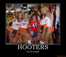 Hooters Motivational Poster by Firingwall