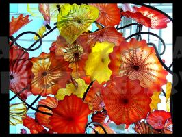 Floral Chandelier by rioka