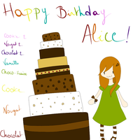 Birthday Gift for Alice by DameAjisai