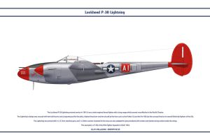 P-38J USAAF 95th FS 1 by WS-Clave