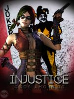 INjustice Harley Quin by NHKkyo