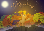 The Filly in Orange Cover Art by jdbener