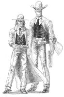 Cowboys by Tolomuco