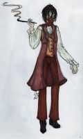 Steampunked Caterpillar by The-Black-Phoenix418