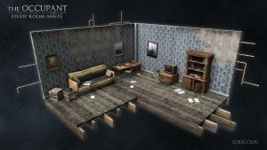 Study Room Assets by 3dcolin