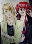 Loki and Balder 2- kamigami no asobi by Tzio-Cdm