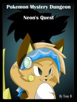 Neons Quest Main Cover Art by Zander-The-Artist