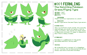Introducing Fernling! by SirAquakip