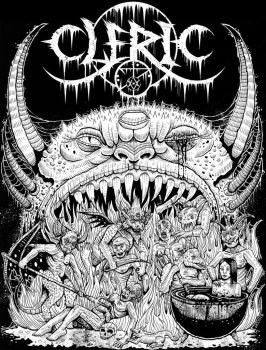Cleric T-shirt design by Enfant-Terrible