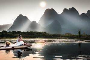 ceremony of Li River - Guilin, China by alierturk