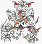 THE 5 FACES OF DEATH by AXEHEADSINISTER